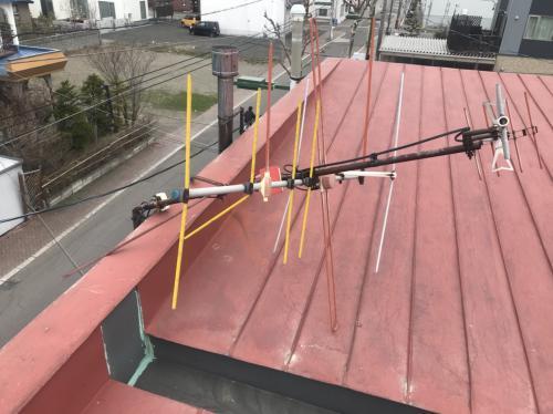 ☆北海道岩見沢市 アンテナ破損案件☆