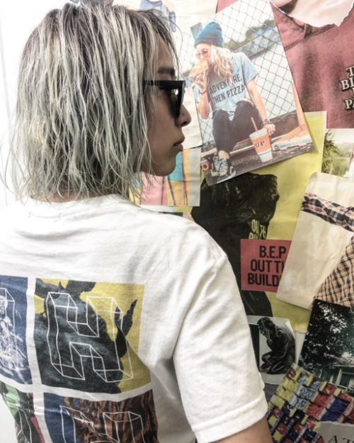 ブリーチ4回でつくるホワイトヘアtlony渋谷