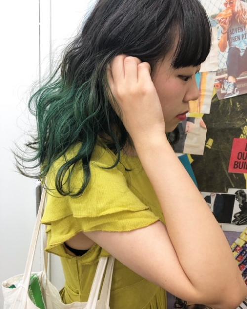 夏の個性的hairもtlony渋谷で!