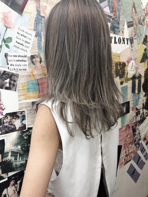 夏のcool hairをお届け tlony渋谷