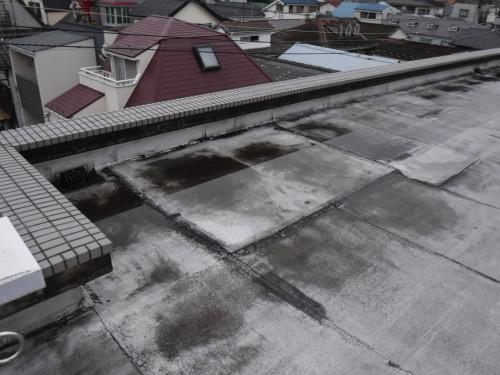 西東京市で雨漏りに関係すると思われる防水状況を確認しました!