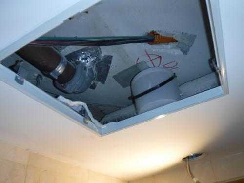 雨漏りが収まればいよいよ内装工事!練馬区雨漏り対策