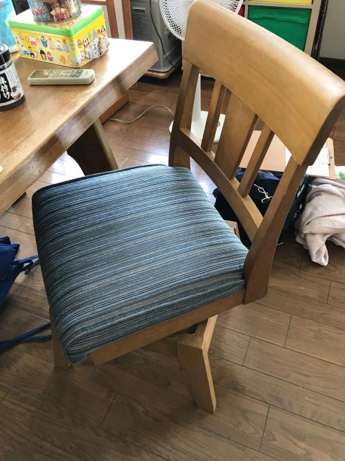埼玉県 蕨市 椅子張り替え