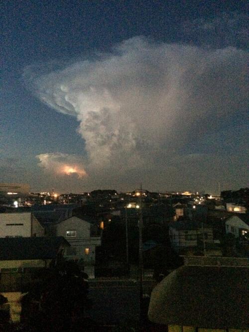 ラピュタみたいな雲