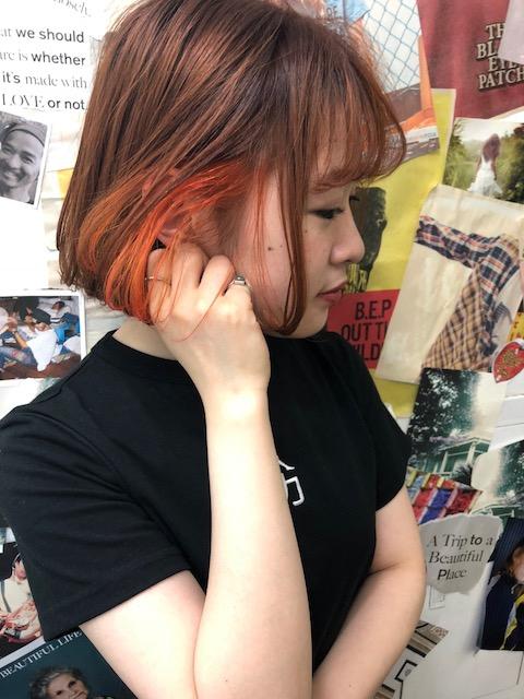 まだまだ人気のインナーカラーTLONY渋谷