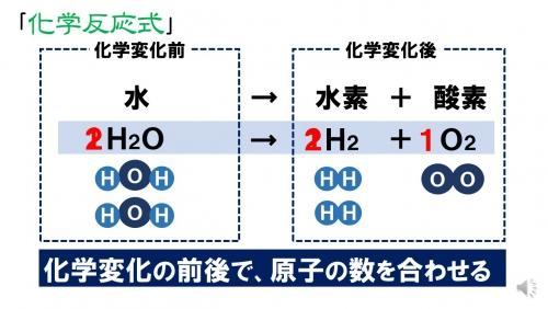 「アドバンスセミナー 原子・分子(中2)」