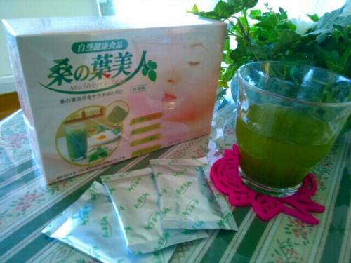 美白と活性酸素除去は『桑の葉』のお茶で身体の中から♪