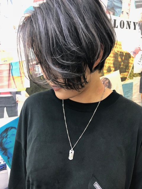 TLONY渋谷履歴を活かしたデザインカラー