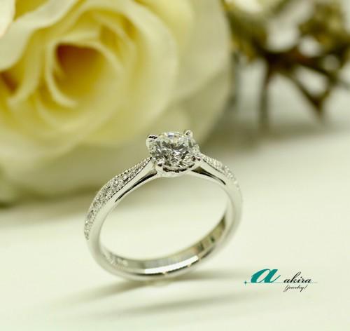 婚約指輪のオーダーメイド 成田市から御来店