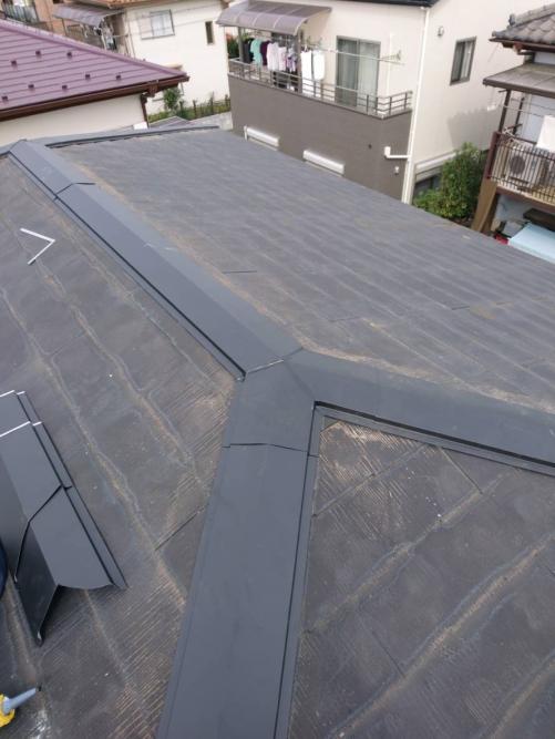 坂戸市で屋根の修理を致しました