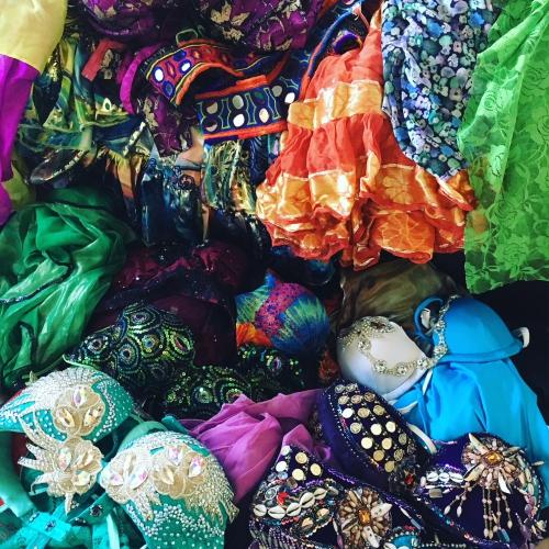 ベリーダンス衣装 フリーマーケット