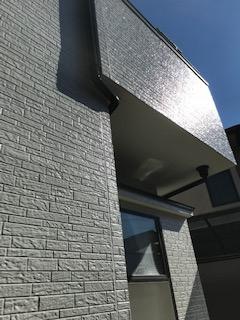 坂戸市で外壁サイディング塗装を施工致しました