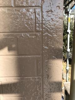 狭山市でラジカル塗料を塗装致しました