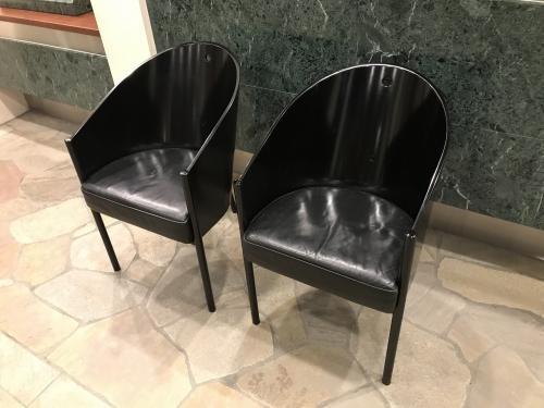 東京都中央区椅子再塗装 納品