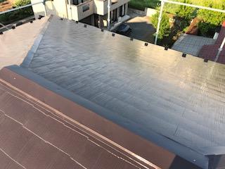 狭山市で屋根塗装工事が完了致しました