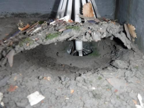 足立区で雨漏り状況の確認をしてきました!