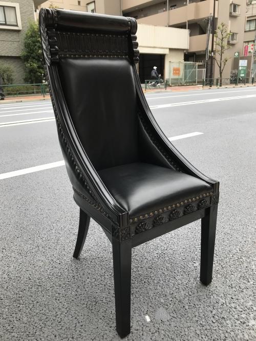 東京都港区 椅子の脚作り直し