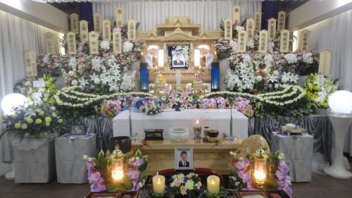 思い出の里 大宮聖苑 家族葬  まごころA お誕生日までは…