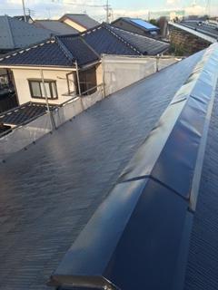 鶴ヶ島市で屋根の塗装工事が完了致しました