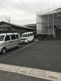 嵐山町でアパートの高圧洗浄工事を施工してきました