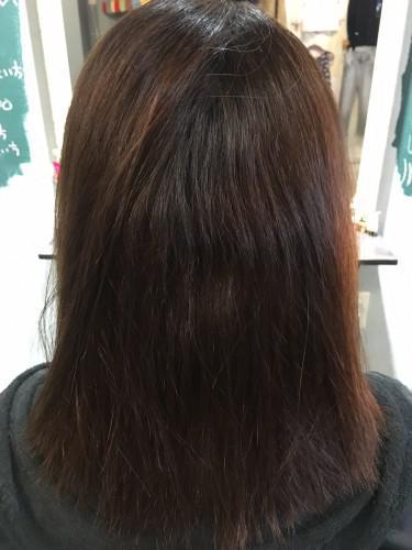 縮毛矯正とオーガニックカラー