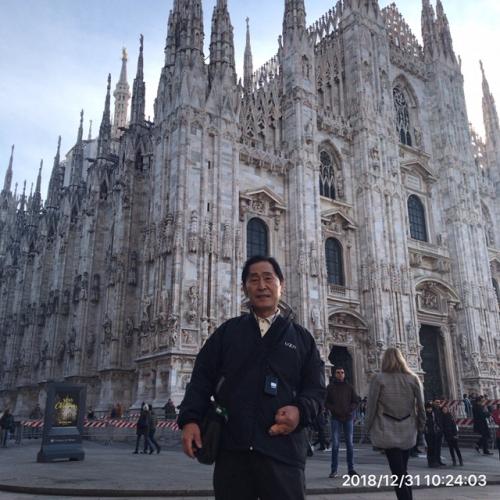 お正月イタリアで迎えてます、