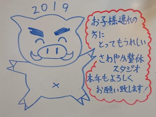 平成31年 明けましておめでとうございます!