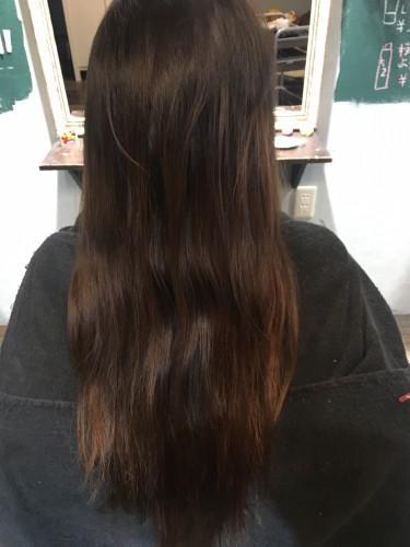 髪をキレイに見せるオーガニックカラー