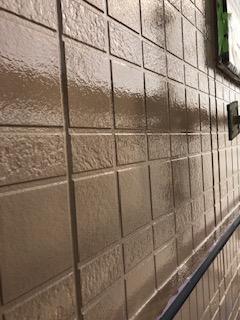 東松山市でサイディング塗装工事が完了致しました