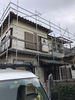 東松山市で雨樋の撤去をしてきました