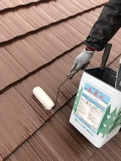 鶴ヶ島市で屋根瓦の塗装工事を施工しました