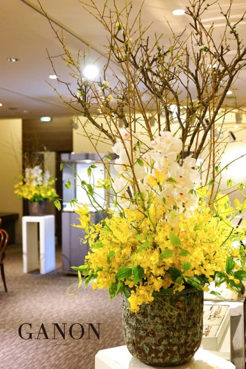ウェルカムスペースの花【札幌 結婚式】