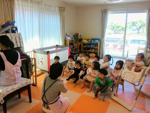 歌遊びの時間、みんな大好き!音楽って良いね☆心がはずむね