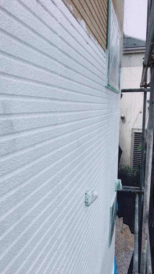 下塗り施工