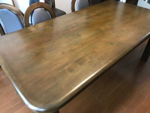 埼玉県 さいたま市 浦和区 テーブル再塗装