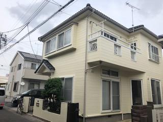 鶴ヶ島市でサイディングの無機塗装が完了致しました