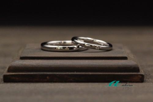結婚指輪の御納品を致しました市原市から御来店