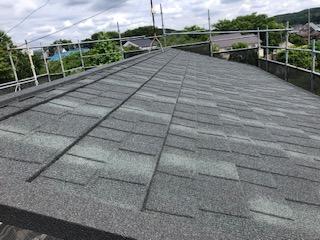 越生町で屋根の葺き替え工事を施工しました