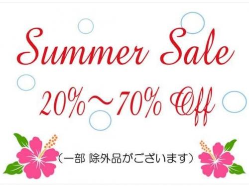 summer sale 開催中!!