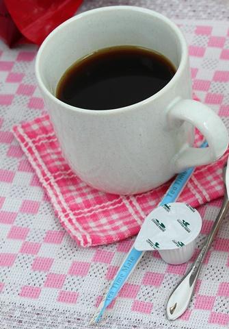 朝、目覚めるためのコーヒー