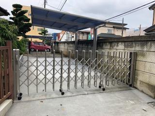鶴ヶ島市で駐車場カーポート工事が完了致しました