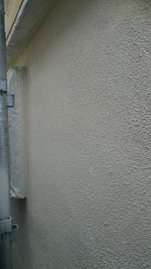 三芳町中塗り施工