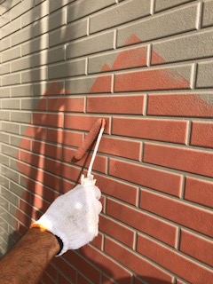 鶴ヶ島市でサイディング2色塗り分け塗装工事を施工してきました