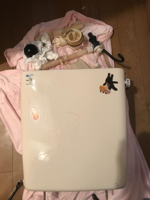 さいたま市浦和区にてトイレ修理実施。