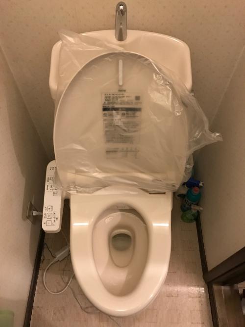 さいたま市浦和区にてトイレ交換実施。