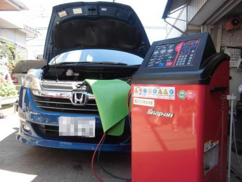 藤沢市ステップワゴンと平塚市キャミのエアコン修理