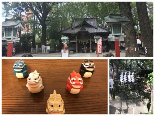 田無神社参拝