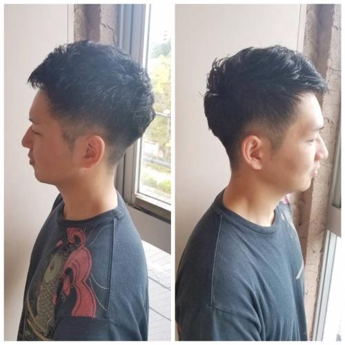 メンズカット ショートヘア
