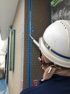 鶴ヶ島市でサイディングのシーリング工事を施工してきました