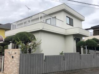 鶴ヶ島市で外壁塗装工事が完了しました